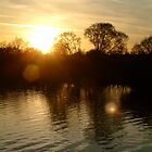 Abberton sunset by newbeltane
