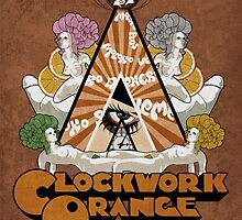 A Clockwork Orange Poster by thepilgrimart