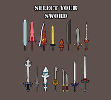 Select Your Sword Unisex T-Shirt