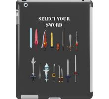 Select Your Sword iPad Case/Skin