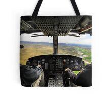 Cockpit wide angle Tote Bag