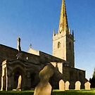Lincolnshire Village Church by JohnYoung