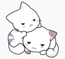 Cute Anime Kittens by tshirtdesign