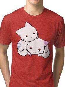 Cute Anime Kittens Tri-blend T-Shirt