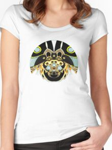 Psychedelic Beetle Women's Fitted Scoop T-Shirt