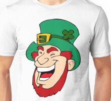 Leprechaun Laughing Unisex T-Shirt