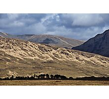 Connemara scenic nature mountain landscape ireland Photographic Print
