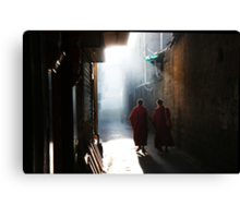 Two Hands - Lhasa, Tibet Canvas Print
