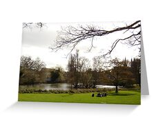 Victoria Park II Greeting Card