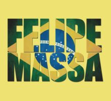 Felipe Massa - Brazilian Flag - Formula 1 Kids Clothes