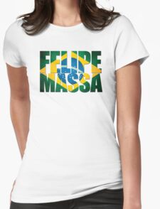 Felipe Massa - Brazilian Flag - Formula 1 T-Shirt