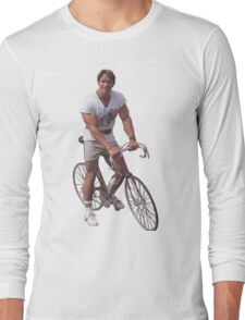 Arnold on a Bike Long Sleeve T-Shirt