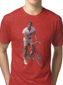 Arnold on a Bike Tri-blend T-Shirt