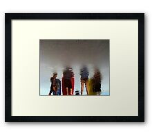 The Gang Framed Print