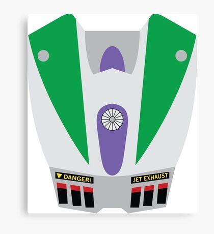 Buzz Lightyear Jetpack Canvas Print