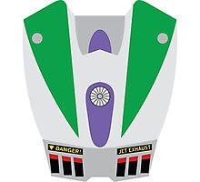 Buzz Lightyear Jetpack Photographic Print