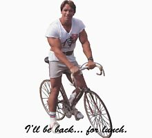 I'll be back... for lunch. Unisex T-Shirt