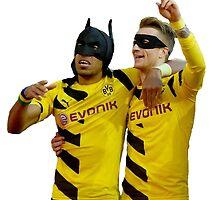Reus Robin & Aubameyang Batman by Enriic7