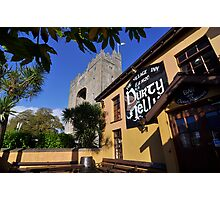 Bunratty Castle and Durty Nelly's Pub , County Clare, Ireland Photographic Print