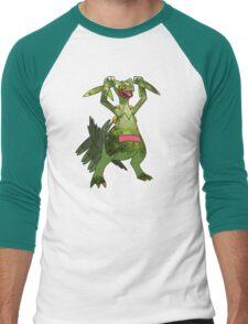 Sceptile at Home Men's Baseball ¾ T-Shirt