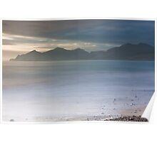 Snowdonia Beach Poster