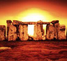 Stonehenge by Delphina1974