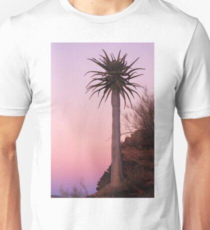 Quiver Tree Sunset Unisex T-Shirt