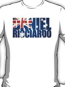 Daniel Ricciardo - Australia Flag - Formula 1 T-Shirt