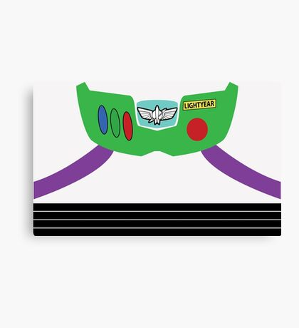 Buzz Lightyear Costume Front Canvas Print