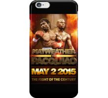 Floyd Mayweather VS Manny Pacquiao May 2nd 2015 shirt, poster and more iPhone Case/Skin