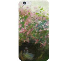 Claude Monet, Lilac, cloudy (author's copy) iPhone Case/Skin