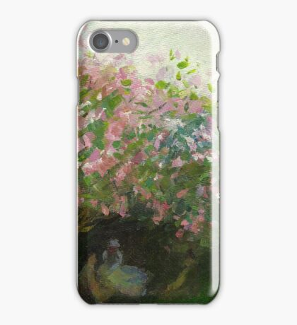 Claude Monet, Lilac, cloudy (author's copy) iPhone Case/Skin