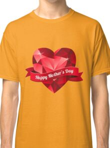 Happy Mother's Day heart pattern Classic T-Shirt