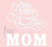 Mom flower Mother's Day One Piece - Long Sleeve