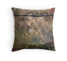 Web of Life 1. Throw Pillow