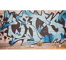 Alphabet Graffiti Photographic Print