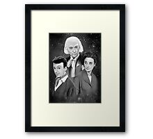 Classic Who Framed Print
