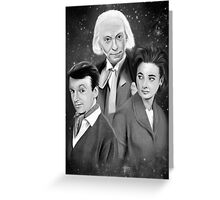 Classic Who Greeting Card
