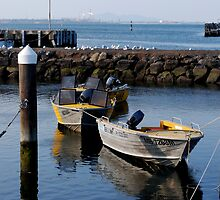 Waterfront Boats by Charlotte Pridding