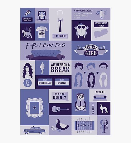 Friends TV Show Photographic Print