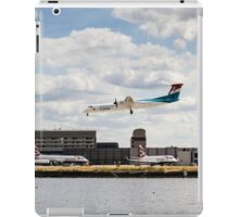 Lux Air London City Airport iPad Case/Skin