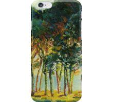 Claude Monet Pines under the sun (author's copy) iPhone Case/Skin