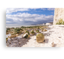 Birling Gap, East Sussex Canvas Print