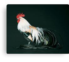 Golden Phoenix Cock Canvas Print