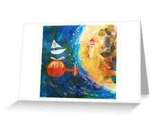 dream island Greeting Card