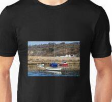 Lyme Regis Harbour - April Unisex T-Shirt