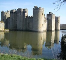 Bodiam Castle by wigs