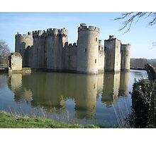 Bodiam Castle Photographic Print