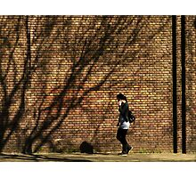 Shadow On The Wall Photographic Print