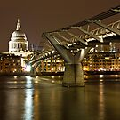 Bridge to St Pauls by Karen Millard